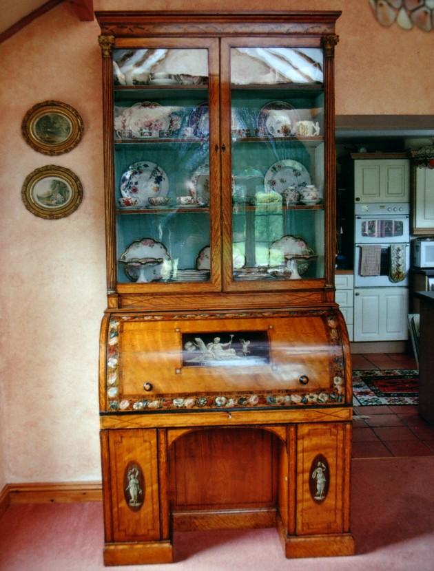 satinwood bureau