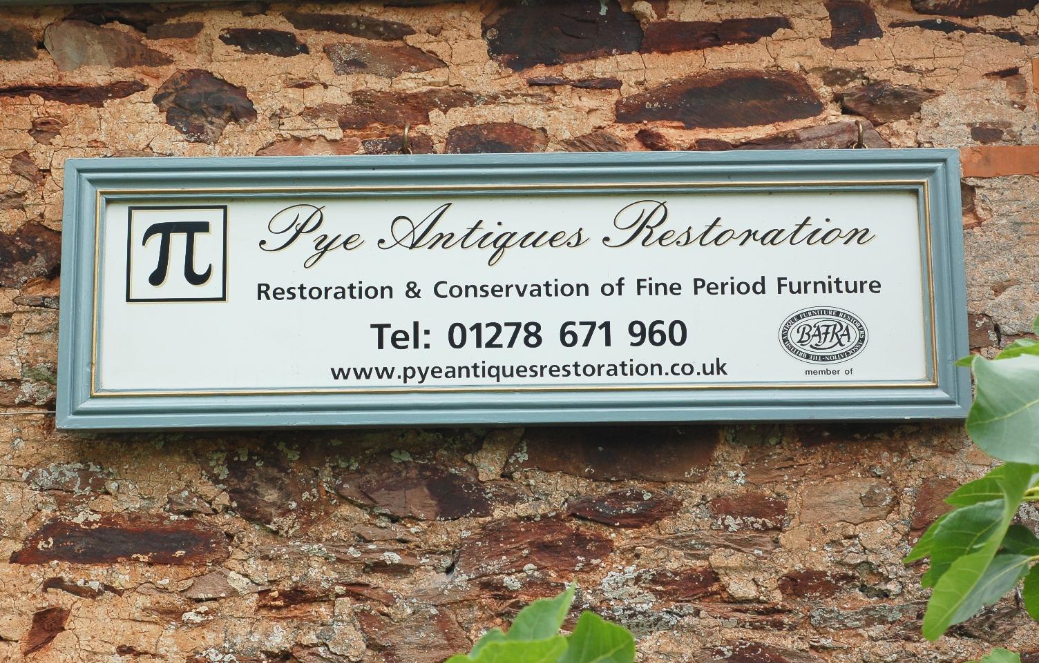 pye antique restoration