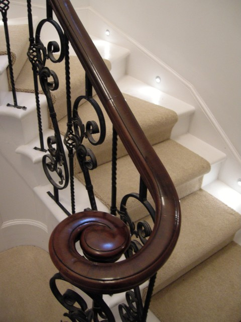 Mahogany Handrail
