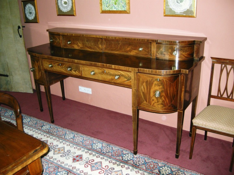 Scottish mahogany sideboard circa 1760